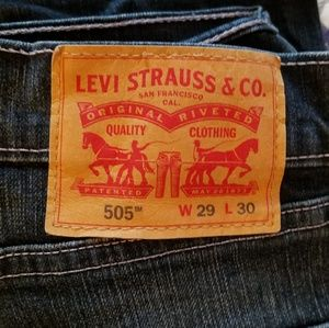 2 pairs of Men's 505 Levi's